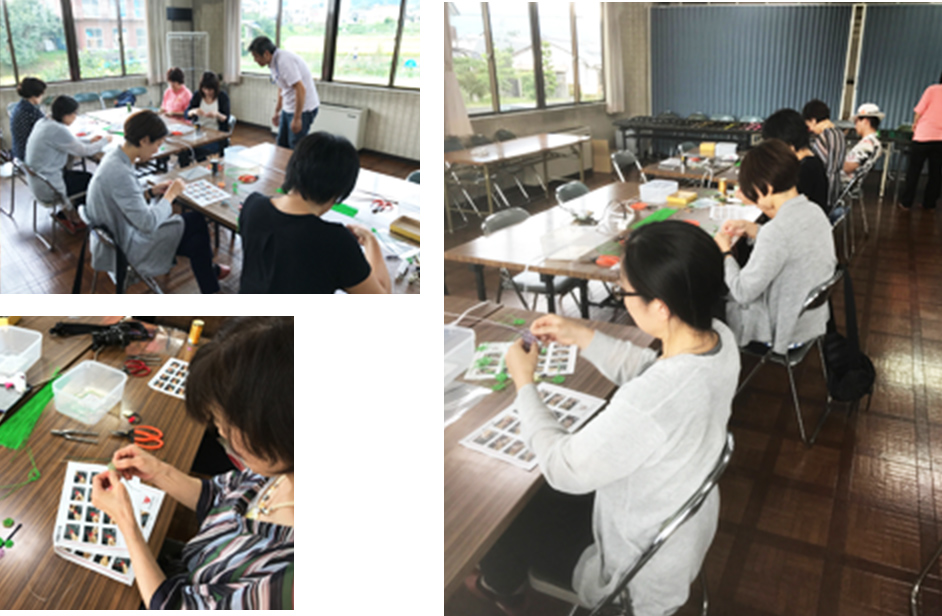 Work shop and Experience class ワークショップ&体験教室